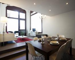 Triplex apartment in Barcelona