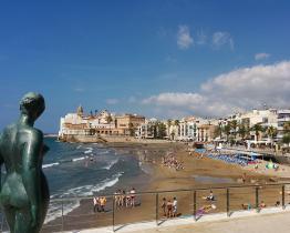 Lejlighed ved San Sebastian strand, Sitges