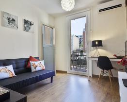 De vintage modern appartement naast de Sagrada Familia