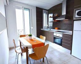 Appartement chaleureux à louer à Barcelone