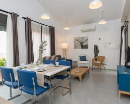 Duplex com terraço privado para alugar em Barcelona