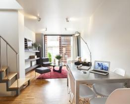 Duplex home in Barcelona for rent