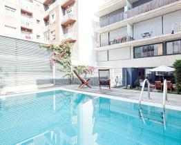 Perfect home with pool for rent in Barcelona