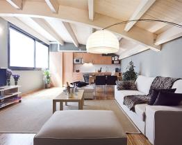 Amazing penthouse for rent in Barcelona