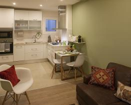 Modern en charmant appartement in Barcelona
