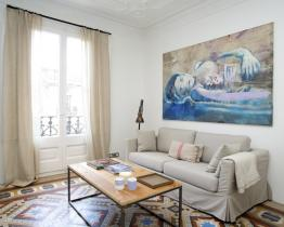 Centric appartement te huur in Barcelona