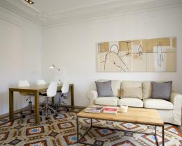 Modernist home for rent next to Paseo de Gracia