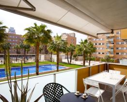 Apartment with pool in the district of Vila Olímpica