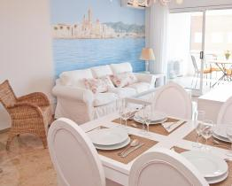 Nydelig blå leilighet, Sitges