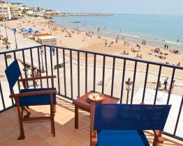 Seafront accommodation in Sitges