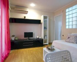 Romantico apartamento en alquiler en Sitges
