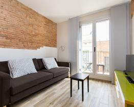 Stilfuld lejlighed med balkon, Gracia