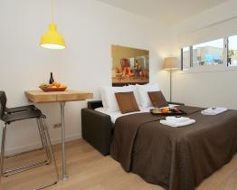 Smuk åben koncept studio lejlighed, Ferran st