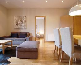 nordisk stil lägenhet bredvid Paseo de Gracia