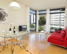 Modern apartment with terrace Puerto Olímpico