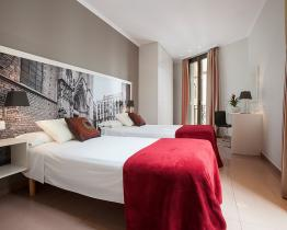 Sagardi barcelona appartementen, Borne