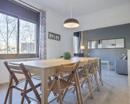 Trevlig lägenhet med tre sovrum uthyres i Barcelona