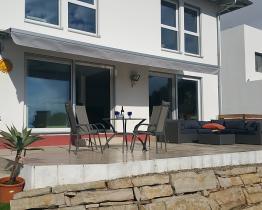 Hermosa casa en Montgat con piscina y vista al mar