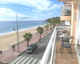 Familien-Appartement am Strand, Lloret de Mar