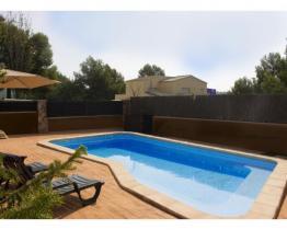 3 pokojowe letni dom z basenem blisko Cunit