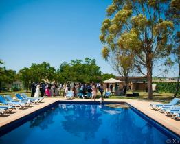 Rustikales Landhaus mit 9 Zimmern und Pool in Subirats