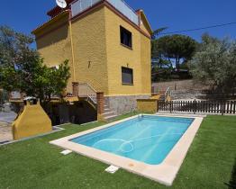 casa de férias da família de 4 quartos, Castellar de Valles