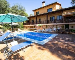 Charming Mediterranean home with pool, Vallcanera