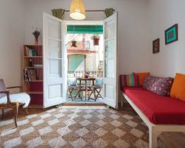 Encantador apartamento de 2 habitaciones en Poble Sec
