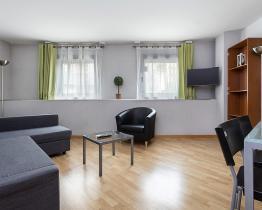 Moderne 1 værelses lejlighed, Sarria-Sant Gervasi