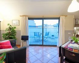 Apartamento de un dormitorio con terraza en Sant Gervasi