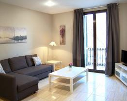 Modern apartment for months in Gran Via