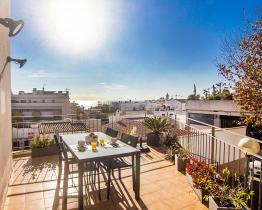 Mediterranean apartment in Sitges
