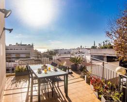 Mediterrane Wohnung in Sitges