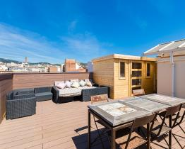 Apartment with terrace, Barcelona