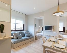 2 rumslägenhet nära Parc de la Ciutadella