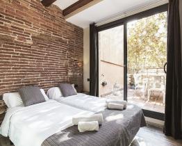 3 værelses lejlighed med terrasse