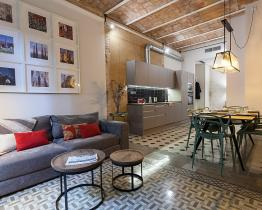 Stylish 3 bedroom apartment, Eixample