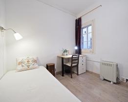 Yhden hengen huone Sant Paun lähellä