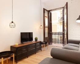 2-pokojowe mieszkanie niedawno odnowione w Barceloneta