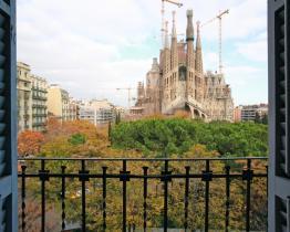 Perfekt Sagrada Familia-lejlighed