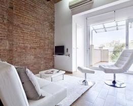 Fancy apartment with private terrace Barcelona