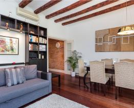 Elegancki apartament dla 6 osób w centrum Barcelony
