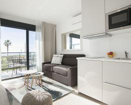 New apartment on the beach