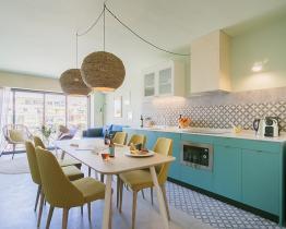 Apartamento Yays Sagrera de 2 habitaciones para 5 personas con piscina