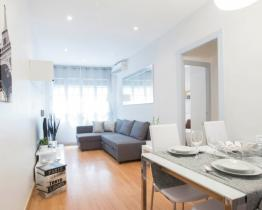 Grand et moderne appartement au coeur du Paseo de Gracia
