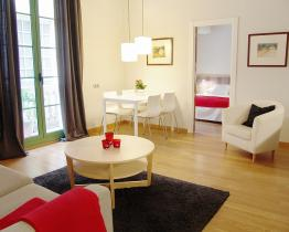 Apartment with two separate bedrooms in the center of Barcelona