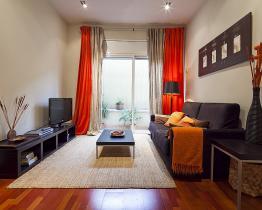 Mysig lägenhet uthyres i Barcelona, lägenhet 2