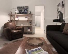 Hemtrevlig enrumslägenhet uthyres i Barcelona, Loft 1A