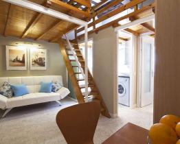 Maisonette Wohnung neben dem Arc de Triomf