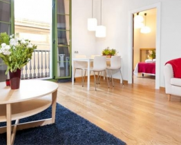 Bright and stylish accommodation near Las Ramblas. Apartment 3
